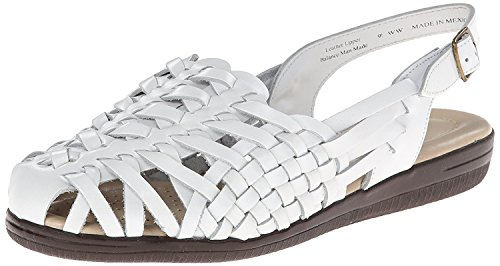 Comfortiva womens 12497 06 Xw 100 Sneaker, White, 5 Wide US