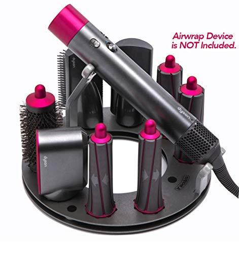 Holderdotcom Dyson Airwrap Styler Complete Accessories Holder, Premium FULLMOON Holder Stand Organizerfor Home Bedroom & Bathroom