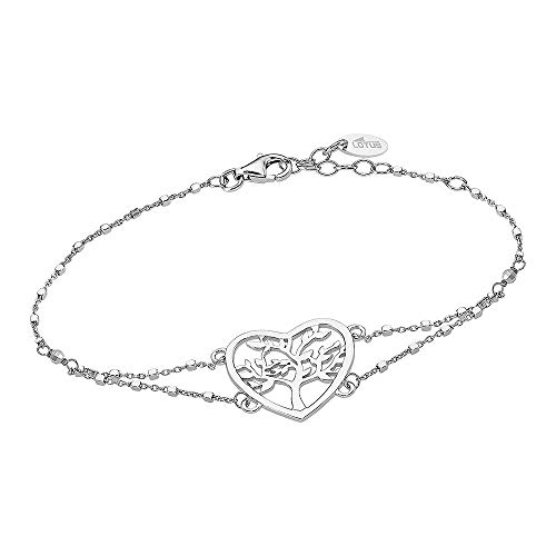 Lotus Silver Pulsera con árbol de la vida LP1769-2/1 de plata de ley 925 JLP1769-2-1