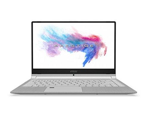 """MSI PS42 8RC-001ES - Ordenador portátil 14"""" FullHD (Intel Core i7-8550U, RAM de 16 GB DDR4, SSD de 512 GB, Nvidia GeForce GTX 1050 4GB, Windows 10 Home Advanced) color plata - Teclado QWERTY español"""