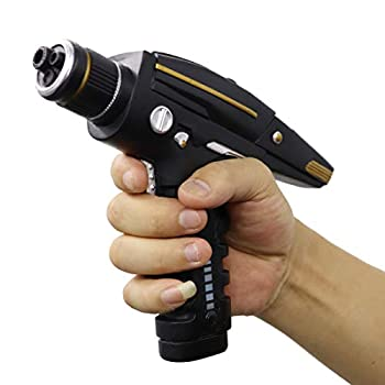Bulex Star Trek Phaser Gun Hand Resin Replica Halloween Props Black