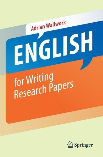 English for Writing Research Papers by Adrian Wallwork (2011-04-06)