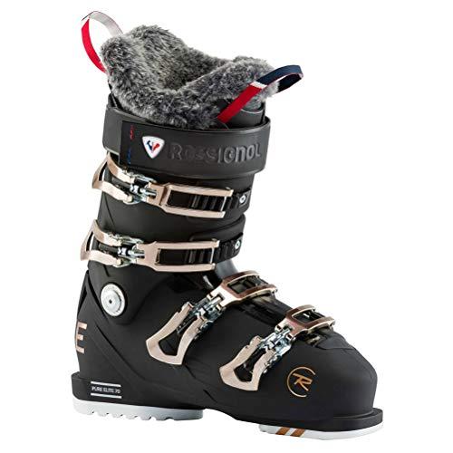 Rossignol Damen Pure Elite 70 Skischuhe, Schwarz, 23.5
