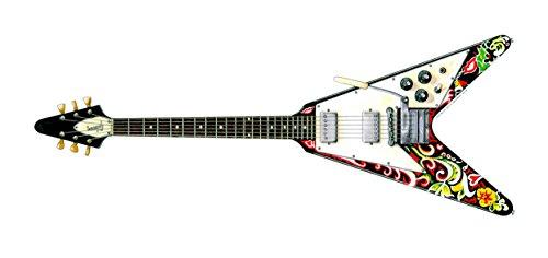 Jimi Hendrix's Gibson Flying V Gitarre Grußkarte, DL-Größe