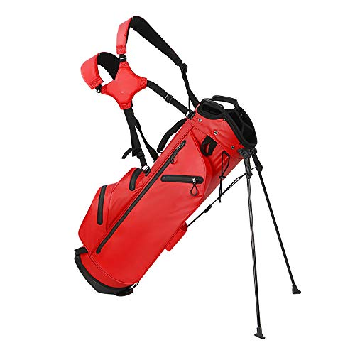 Best Price NAMBM Golf Rack Bag, Large-Capacity Storage Space, Portable Design, Equipped with 2 self-...