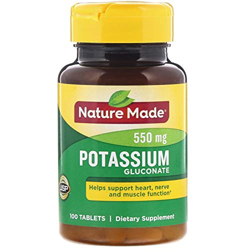 Nature Made Potassium Gluconate 550mg