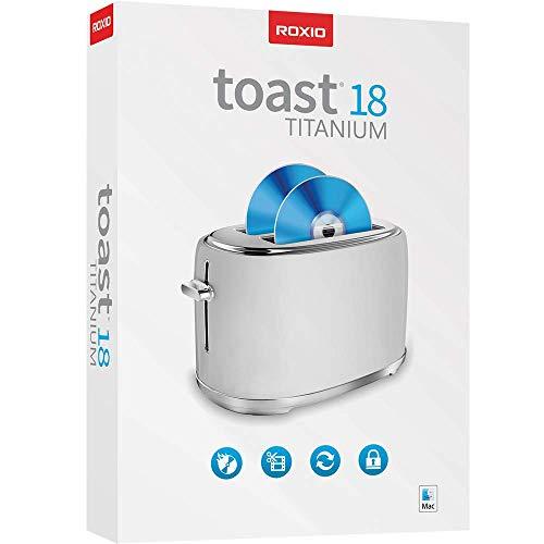 Roxio Toast 18 Titanium | DVD Burner & Digital Media Suite [Mac Disc] [Old Version]