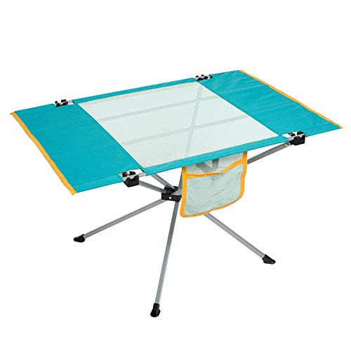 Housewares Folding Table Ultra-light Foldable Camping Table,Portable Compact Folding Camping Table,Waterproof And Stain-repellent,With Storage Pockets On The Side,Can Be Used For Outdoor Camping Hikin