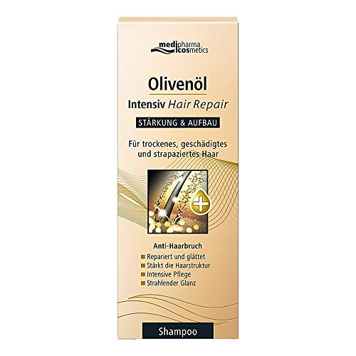 medipharma cosmetics Olivenöl Intensiv Hair Repair Shampoo, 200 ml Shampoo