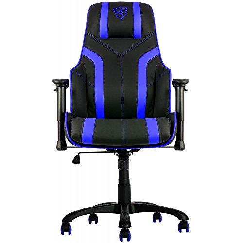 Thunder X3 TGC20BB Sedia Gaming Professionale Colorazione Black Blue, nero, metallo, altezza_regolabile