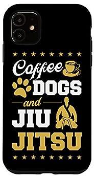 iPhone 11 Coffee Dogs And Jiu Jitsu Funny Brazilian Christmas Gift Case