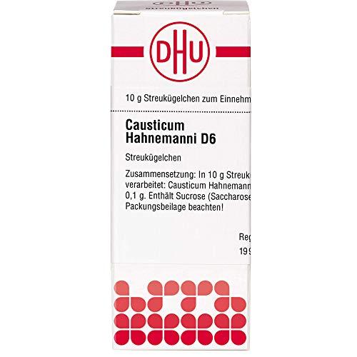 DHU Causticum Hahnemanni D6 Streukügelchen, 10 g Globuli