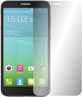 "2 x Slabo displayskyddsfilm Alcatel One Touch Idol 2 skärmskydd skyddsfilm ""Crystal Clear"" osynlig tillverkad i Tyskland"