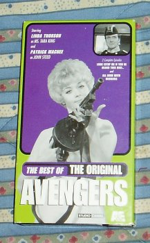 The Best of the Original Avengers - 2 episodes - Look (Stop Me If You've Heard This One) / All Done with Mirrors
