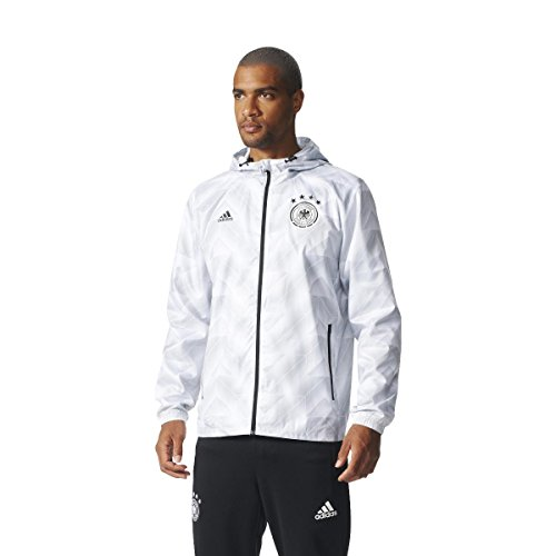adidas Herren DFB Seasonal Special Windbreaker Jacke, Clear Grey, S