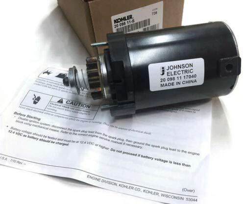 Kohler OEM Part 20 098 11-S Starter: Assembly KH-20-098-11-S 2009811-S