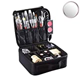 Idearsen Travel Make up Train Case, Waterproof Portable Storage Comestic Case, Professional Makeup