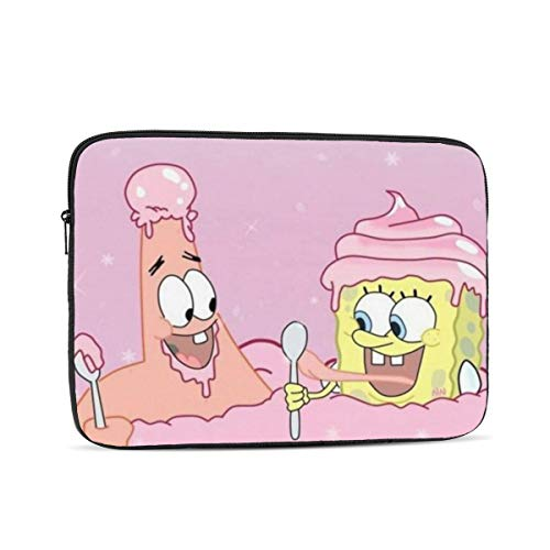 Laptop Sleeve Case- Multi Size Spongebob and Patrick Notebook Computer Protective Bag Tablet Briefcase Carrying Bag,17 Inch