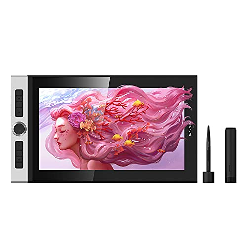 XP-PEN Innovator 16 Tableta Gráfica | Pantalla Laminación Completa de 15.6' | 92% Adobe RGB | Lápiz Óptico sin Batería Inclinación de 60 ° | Software Gratuito | Edición de Aniversario