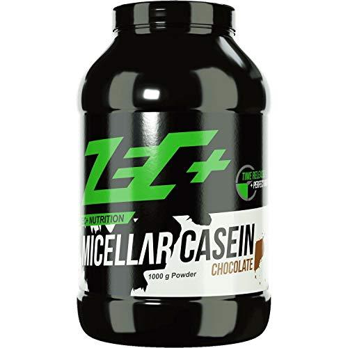 ZEC+ Micellar Casein Proteinpulver, Eiweißpulver mit Aminosäuren, ideal für die Einnahme am Abend, Geschmack Schokolade