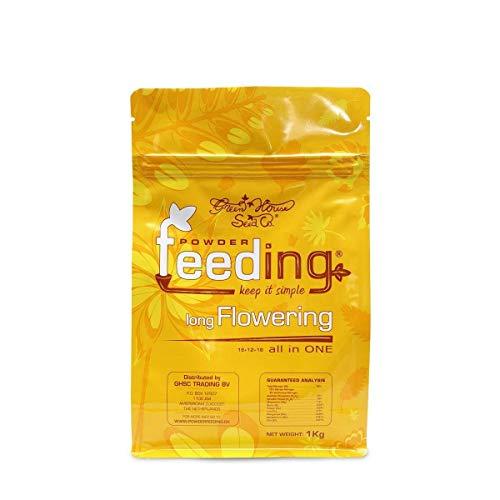 Powder Feeding « Green House Long Flower 2,5 kg », 20 x 15 x 8 cm