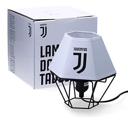 Juventus Lamapada da Tavolo - Altezza 19 cm - Larghezza 17 cm - Metallo e Tessuto - 100{5dbc5b2811d4963ce2b41bb4229e322a21619007283baf388f3ee0afba2fac95} Originale