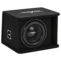 """SDR Series Single 10-Inch D2 ohm Loaded Subwoofer Enclosure Peak Power: 1,200 Watts 