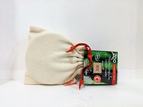 Zao Organic Makeup - compacto polvo Beige naranja oz de 302-0,32.