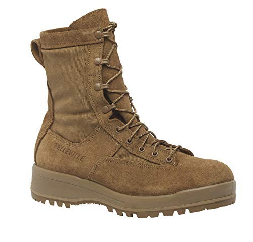 B Belleville Arm Your Feet Men's C795 200g Insulated Combat Boot, Coyote - 8.5 W