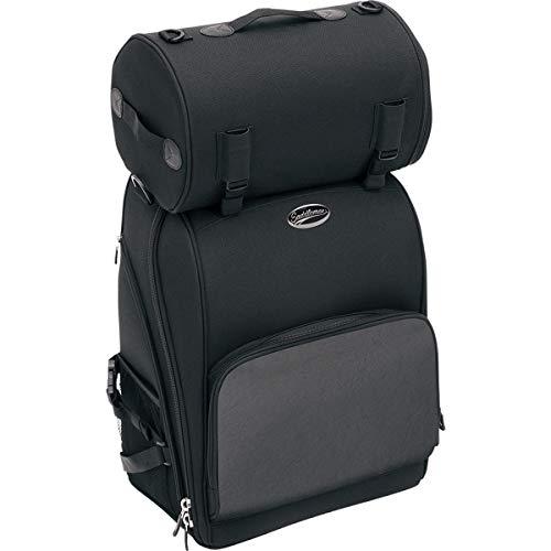 Saddlemen 3515-0081 Deluxe Sissy Bar Bag, schwarz