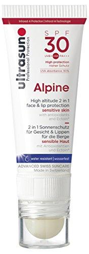 Ultrasun Alpine SPF30 Sonnenschutz für Gesicht und Lippen, 1er Pack (1 x 20 ml)