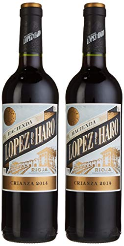 Bodega Classica Geschenkset Lopez de Haro Crianza Cuvée Trocken (2 x 0.75 l)