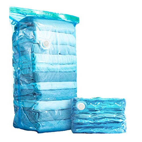 Vacuum Compression Bags Vacuum Storage Bag, Cube Space Saver Bags, Premium Vacuum Storage Bags, Seal Bags For Bedding Pillows Towel Blanket Clothes, No Pump Needed (Color : A)