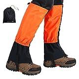 Ushining 登山スパッツ 登山ゲイター ロングスパッツ 防水 泥除け 雨よけ 雪対策 トレッキング アウトドア 男女兼用 防水収納袋が付き