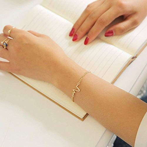 N-B Bracelets For Women Punk Open Adjustable Arrow Cuff Fashion Simple Gothic Wrist Feather Bangles Gift