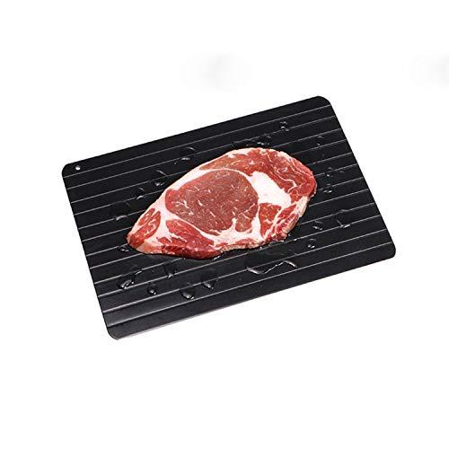 Vassoio di scongelamento rapido Piatto di scongelamento, Piatto e vassoio di scongelamento rapido per carne e cibo congelati, Tappetino di scongelamento Scongelare la carne rapidamente, ecologico