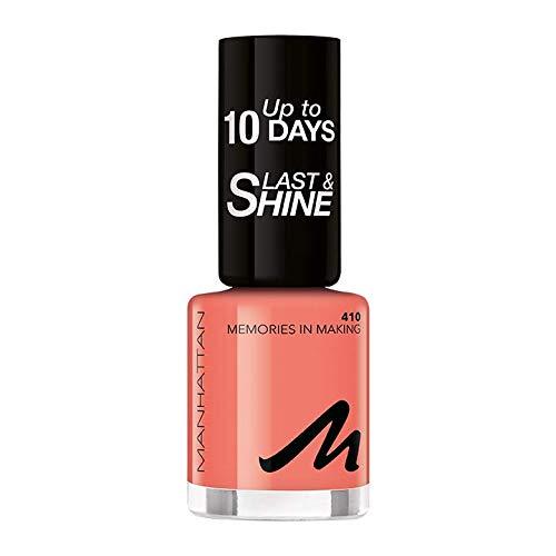 Manhattan Last und Shine Nagellack, Nr.410 Memories In Making, 1er Pack (1 X 10 ml)