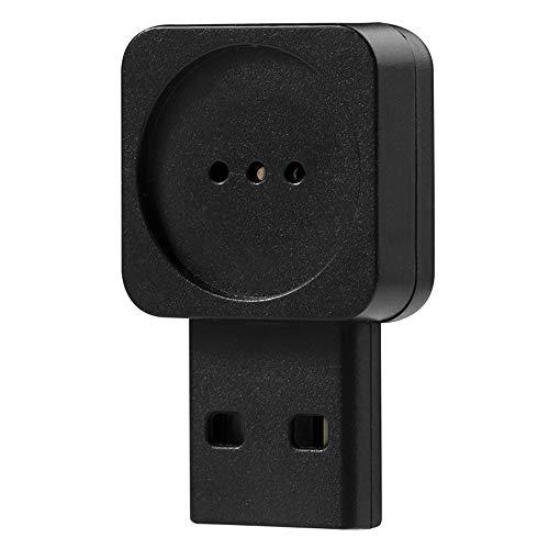 LEAGY MI-021 - Mini micrófono USB de voz inteligente multiusos (Negro)