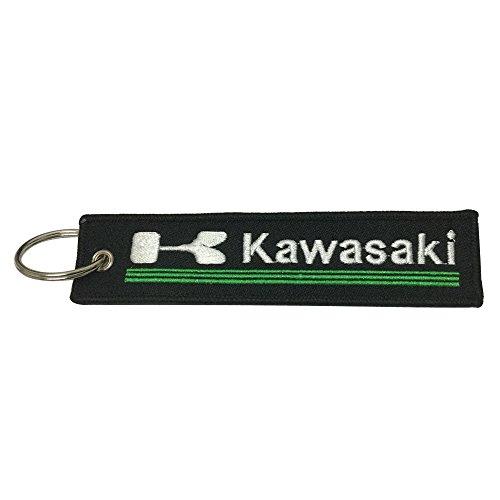 1pcs Tag Keychain for Kawasaki Motorcycles Bike Biker Key Chain Accessories Gifts