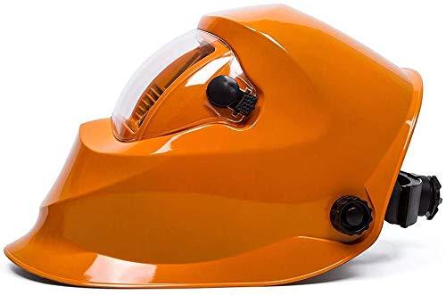 LLDKA Solar oscurecimiento automático accionado del Casco de la máscara de Soldadura Ajustable para máscara de Soldadura