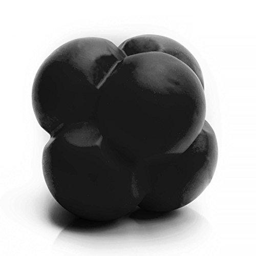 #DoYourFitness Reaktions-Ball »HandsUp« / Reflexball/Speedball für Sport, Freizeit und Therapie/schwarz