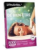 Wonderbox – Coffret cadeau pour femme - BULLE DE BIEN ETRE – 8000 massages californiens, soins du visage, modelage thaïlandais, gommage du corps, hammam, bain aux huiles pour 1 à 2 personnes