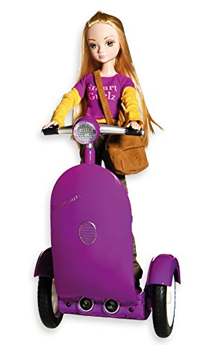 SmartGurlz Coding Robot for Girls, Jen on Robotic Scooter, STEM Education, Manage Screen time and Kids Learn to Code While at Home, Rechargeable Battery is Required (Battery not Included)