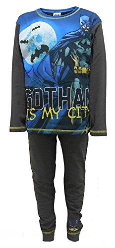 Marvel, Disney - Pijama Dos Piezas - para niño Gris Batman