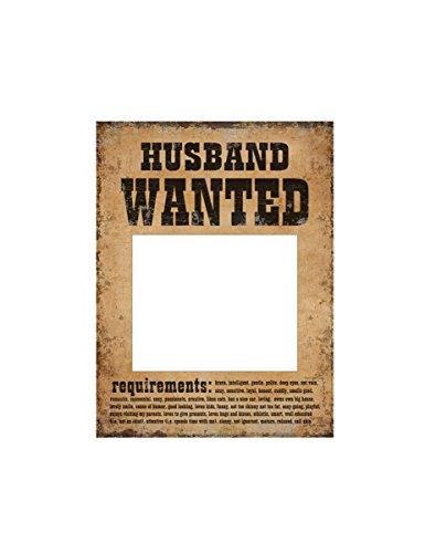 CORNICE POSTER WIFE HUSBAND WANTED