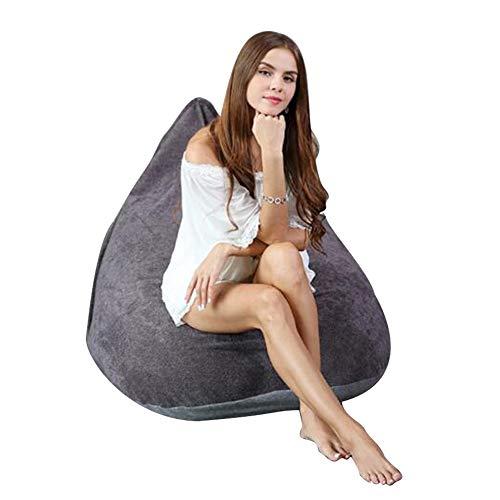 YQQ-Sitzsäcke Sitzsackliege Sacco Di Fagioli Belle Beanbags Sedia Grande Con Sacco A Sacco Per USO Interno Ed Esterno Perfect Lounge O Sedia Da Gioco (Color : Gray)