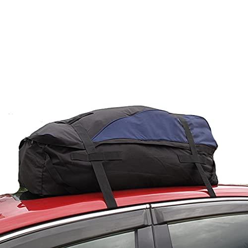 YMXBHN Portapacchi da Auto, Box da Tetto da Auto Resistente all'Acqua, Box Portapacchi Auto da Viaggio, per Garantire la Sicurezza del Contenuto della Borsa per I Bagagli (13 Piedi Cubi)