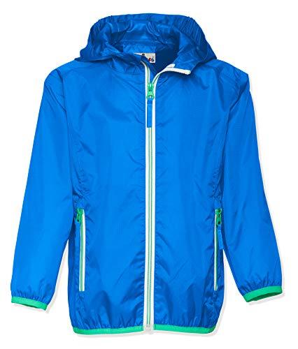 Playshoes Unisex Kinder Faltbare Funktions-Jacke Regenjacke, Blau 7, 152