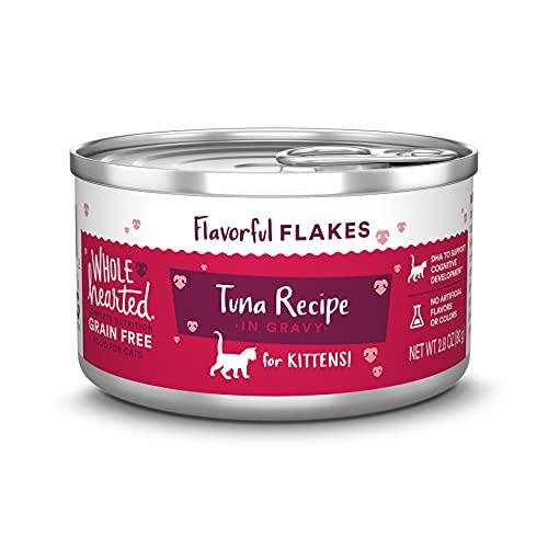 WholeHearted Grain Free Tuna Kitten Formula Wet Food