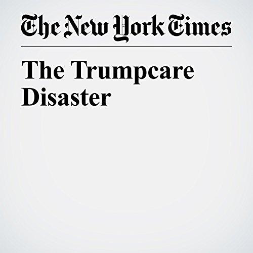 The Trumpcare Disaster copertina